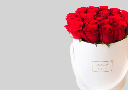 Москва доставка цветов в шляпных коробках